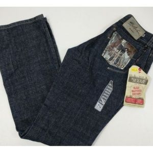 Women Silver Jeans Raw Rinsed Flare Size 26 x 30